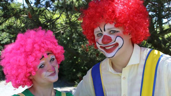 Das SonnenschutzClown-Programm für Kitas