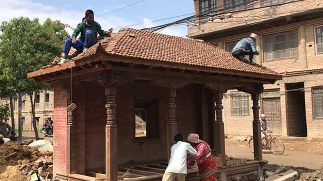 Wiederaufbau Pati, Nepal